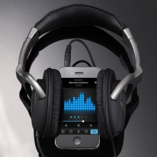 Stereo  Headset with MIC, Matte Alloy