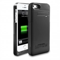 Portable 2200mAh External Battery Charger Case Power for iPhone 5 5S, Black