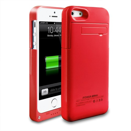 new product 3b030 a95a4 Portable 2200mAh External Battery Charger Case Power for iPhone 5 5S ...