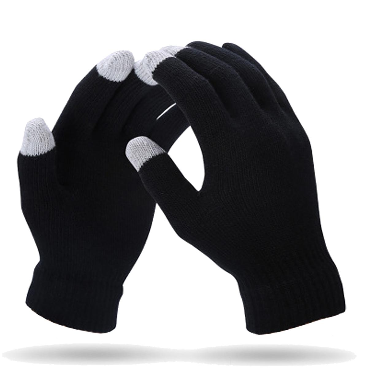 Soft Winter Men Women Touch Screen Gloves Texting