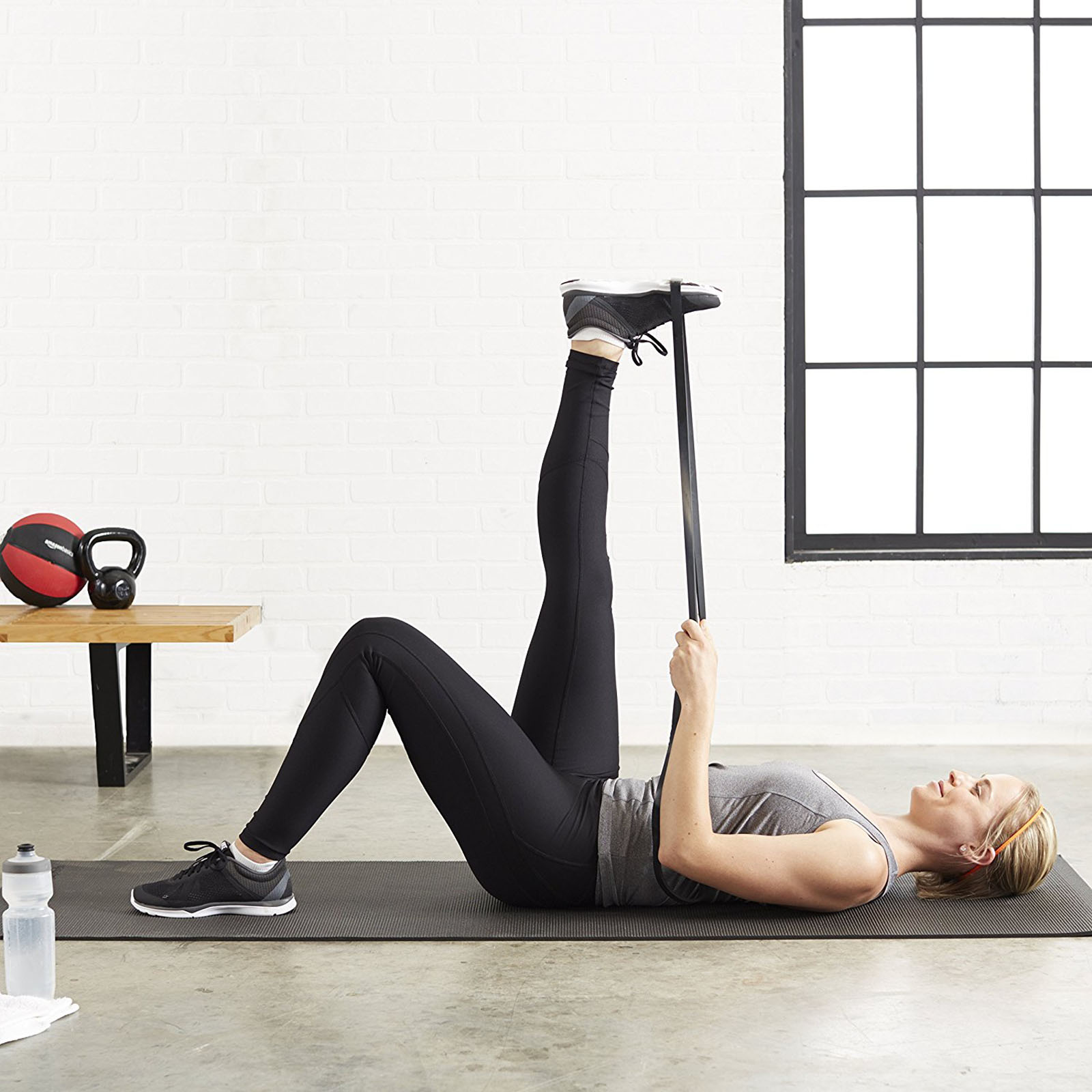 SET POWER Heavy Duty RESISTANCE BAND Gym Yoga LOOP