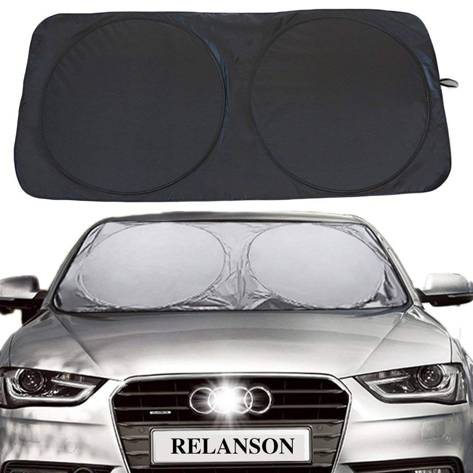 Details about Car Front Window Sun Shade Visor Folding Auto Windshield  Block Cover Protector 5ce536f932e