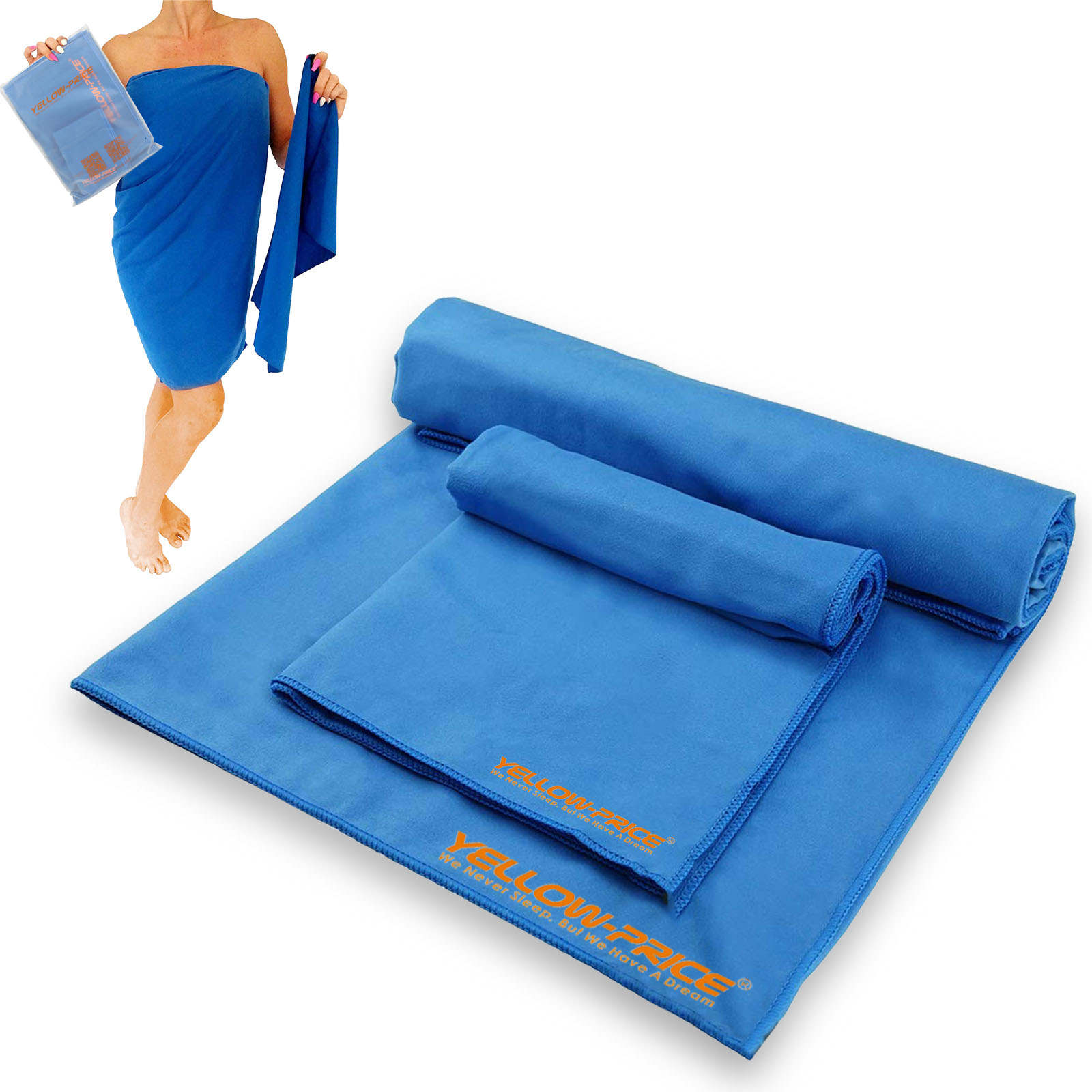 Microfiber Travel Towels Australia: Travel Sports Microfiber Towel Gym Fast Drying & Free