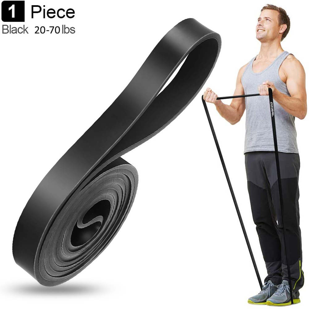 Set 3 Heavy Duty Resistance Band Loop Exercise Yoga Workout Power Gym Fitness HO